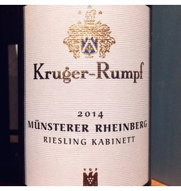 2014 Kruger Rumpf Munsterer Rheinberg Riesling Kabinett