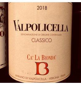 2018 Ca' La Bionda Valpolicella Classico
