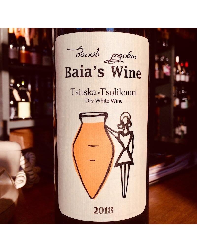 Georgia 2018 Baia's Wine Tsitska Tsolikouri