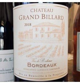 France 2016 Chateau Grand Billard Bordeaux