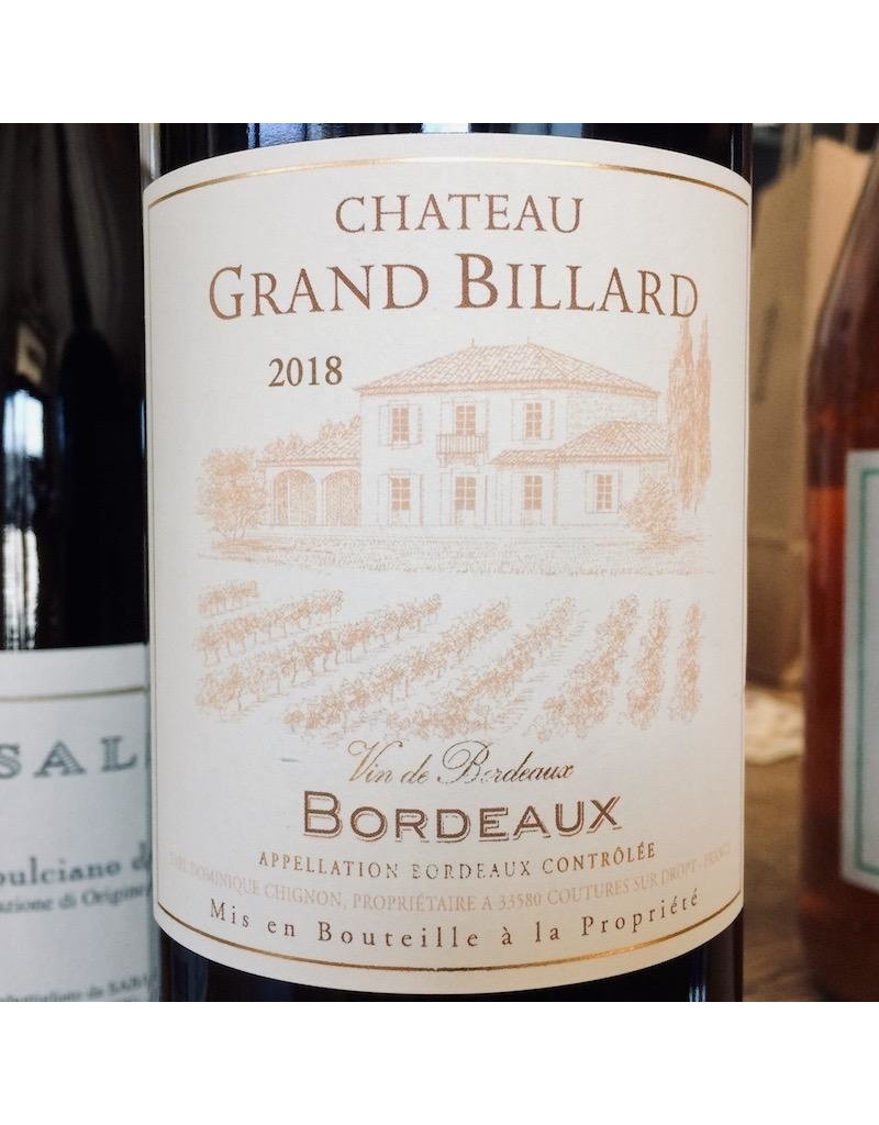 2016 Chateau Grand Billard Bordeaux