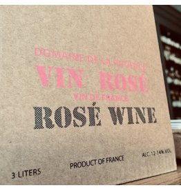 France From the Tank Rose Wine (Domaine de la Patience) 3L Bag-in-Box