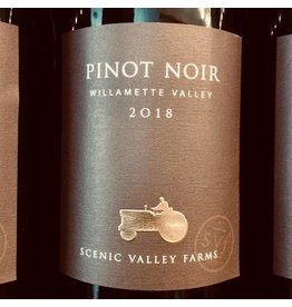 USA 2018 Scenic Valley Farms Willamette Valley Pinot Noir