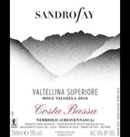 "2016 Sandrofay Valtellina Superiore Valgella ""Costa Bassa"""
