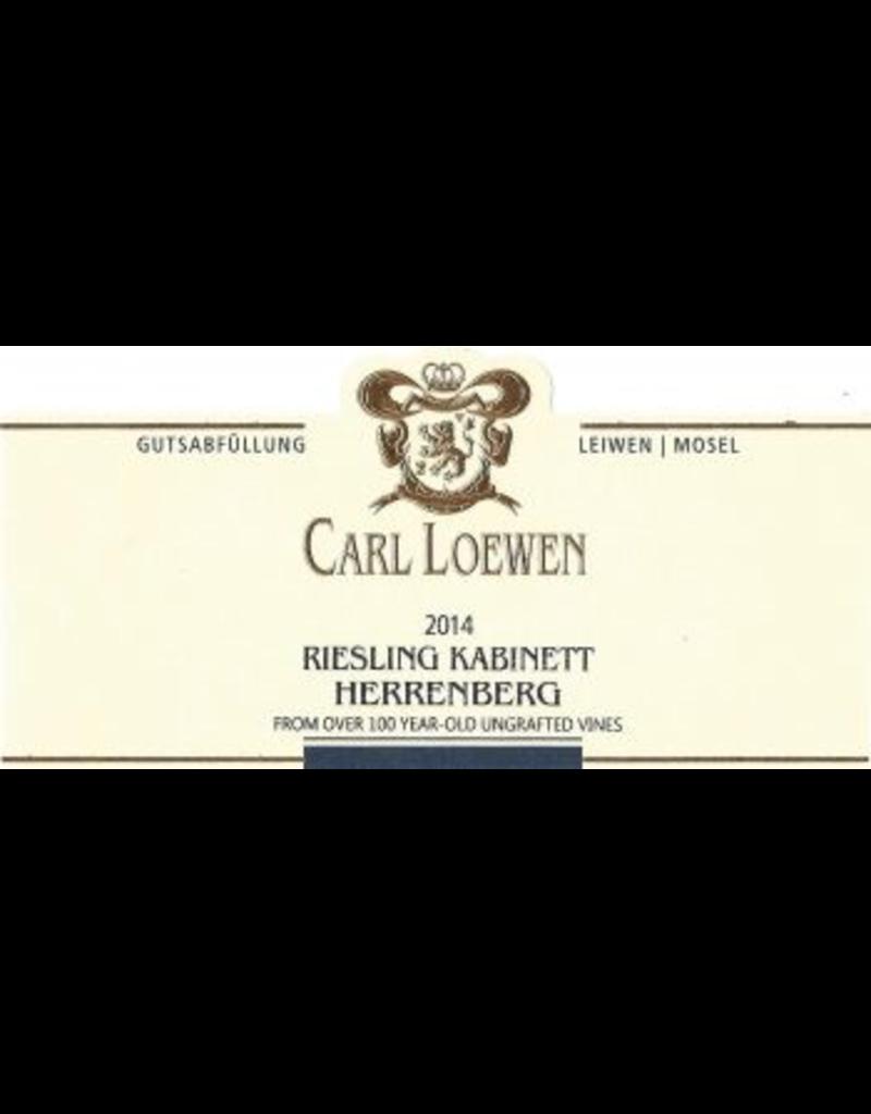 2014 Carl Loewen Longuicher Herrenberg Riesling Kabinett