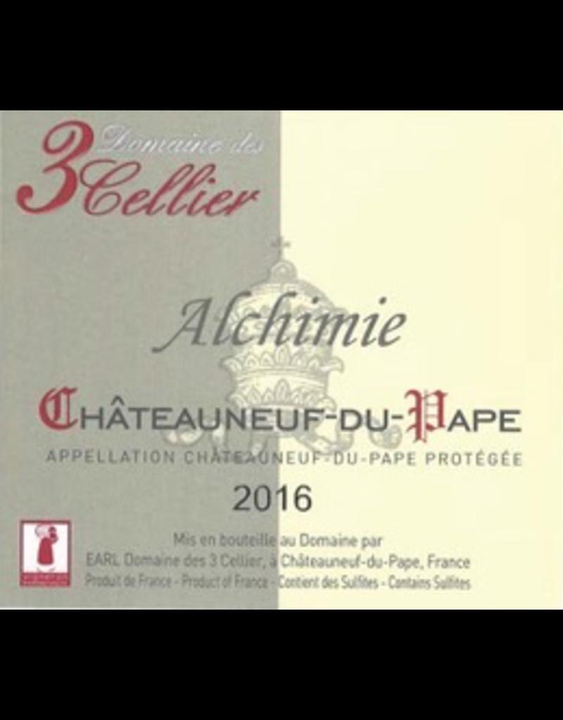 """2017 Domaine de 3 Cellier Chateauneuf-du-Pape """"Alchimie"""""""
