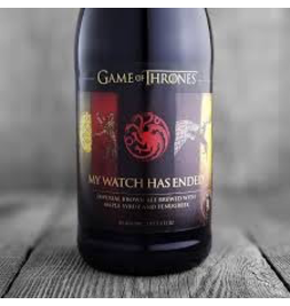 "Ommegang Game of Thrones ""My Watch Has Ended"""