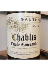 France 2017 Gautheron Chablis Cuvee Emeraude