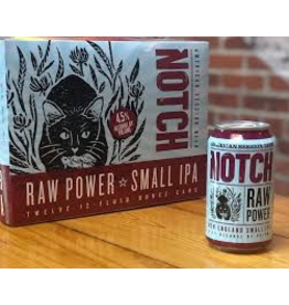 Notch Raw Power Small IPA 12pk