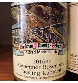 Germany 2016 Merkelbach Kinheimer Rosenberg Riesling Kabinett