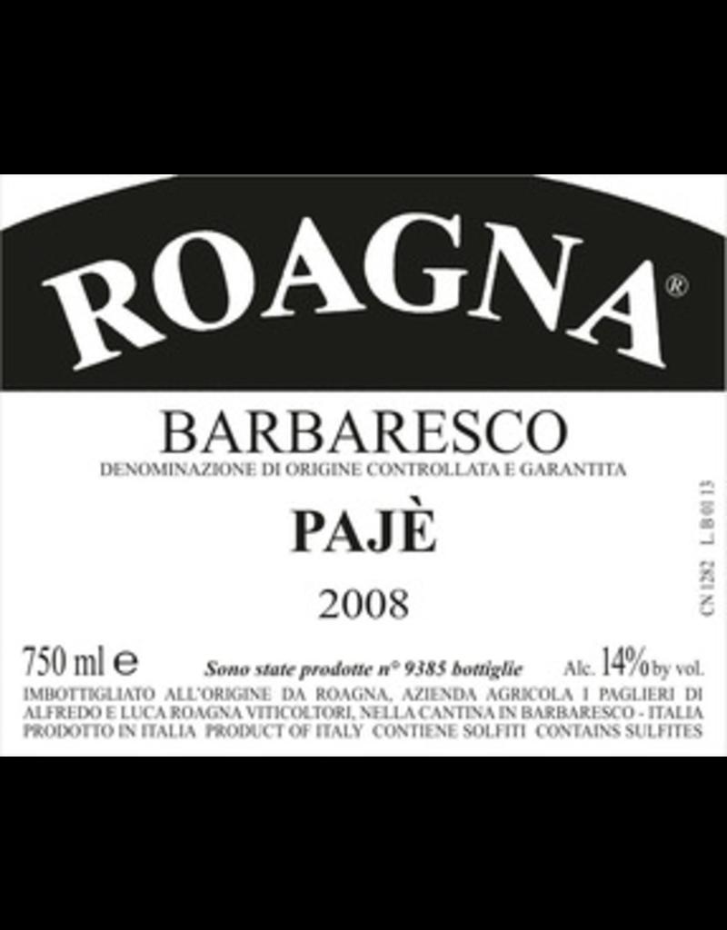 Italy 2012 Roagna Barbaresco Paje