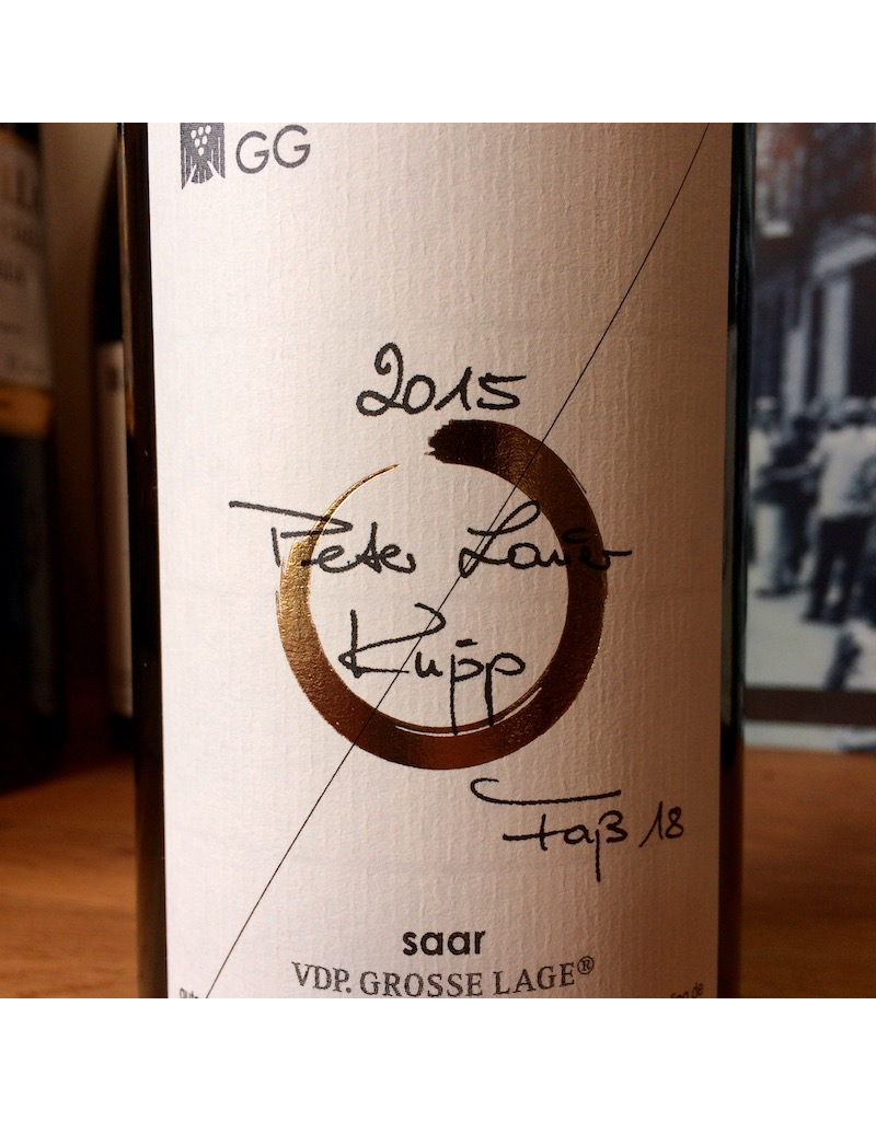 Germany 2015 Peter Lauer Riesling Fass 18 Kupp