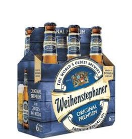 Germany Weihenstephaner Original Lager 6pk