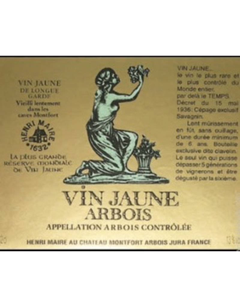 France 2008 Domaines Henri Maire Arbois Vin Jaune 375 ml