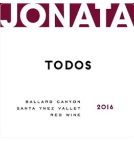 "USA 2014 Jonata ""Todos"" Ballard Canyon Santa Ynez Valley"