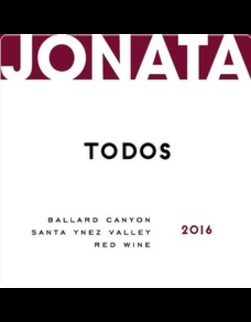 "USA 2014 Jonata ""Todos"" Ballard Canyon Santa Ynez Valley"