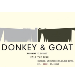 USA 2017 Donkey & Goat The Bear El Dorado