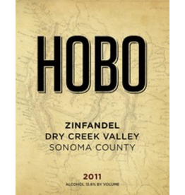 USA 2017 Hobo Zinfandel Dry Creek Valley Sonoma County