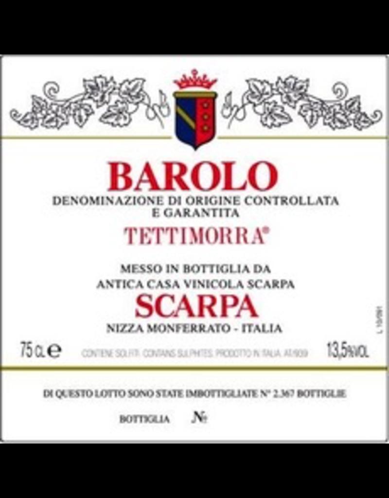 """Italy 2012 Scarpa Barolo """"Tettimorra"""""""