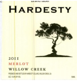 USA 2017 Hardesty Merlot Willow Creek
