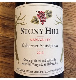 USA 2013 Stony Hill Napa Valley Cabernet Sauvignon