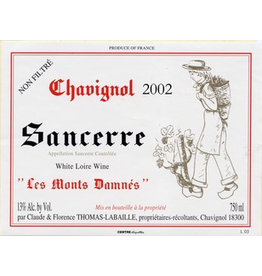"France 2018 Thomas-Labaille Sancerre ""Les Monts Damnes"""