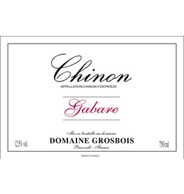 "France 2017 Grosbois Chinon ""Gabare"""