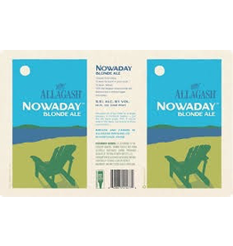 USA Allagash Nowaday Blonde Ale 4pk