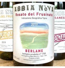 """Italy 2019 Abbia Nova Rosato del Frusinate """"Berlame"""""""
