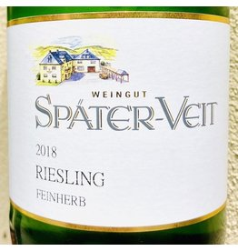 Germany 2018 Spater-Veit Riesling Feinherb 1.0L