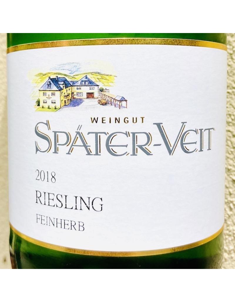 Germany 2018 Spater-Veit Riesling Feinherb 1.0L