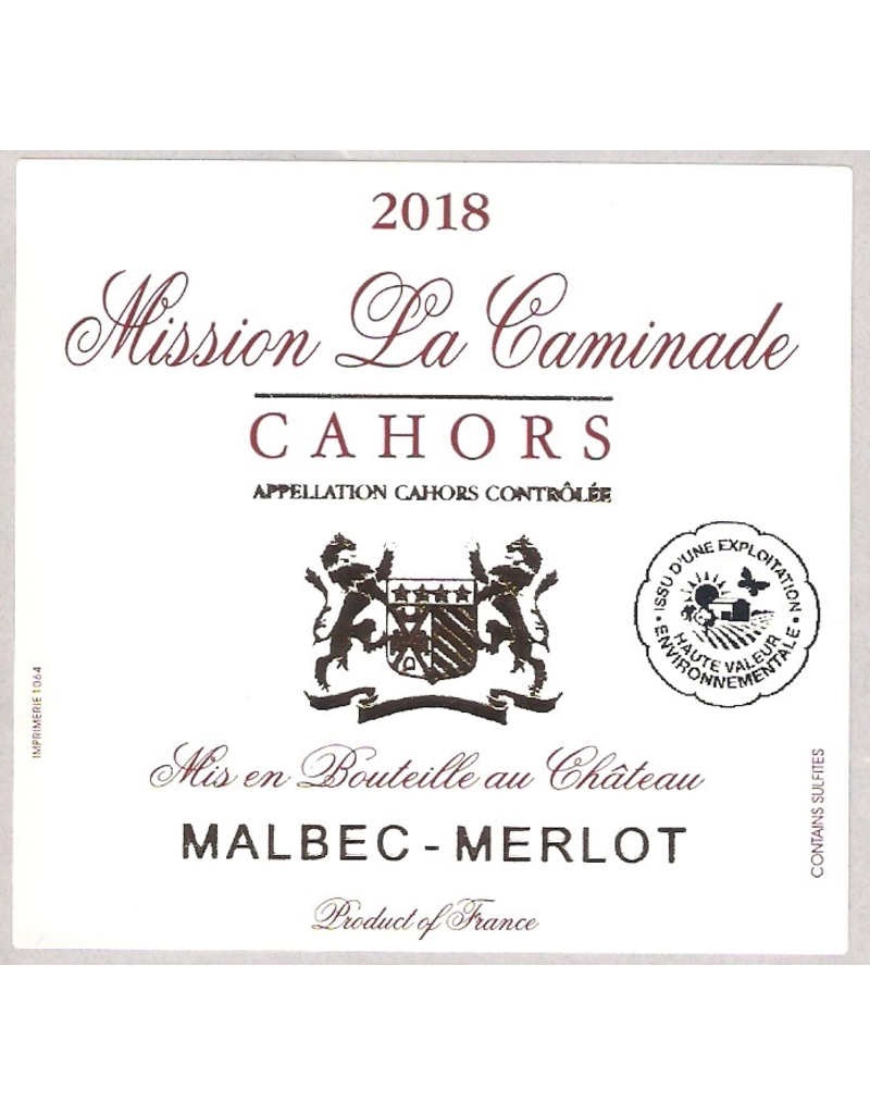 France 2018 Mission la Caminade Cahors