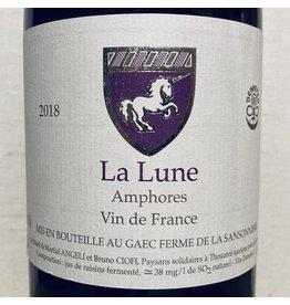 """France 2018 Ferme de la Sansonniere Anjou Blanc """"La Lune"""" Amphores"""