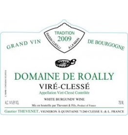 France 2018 Domaine de Roally Vire Clesse