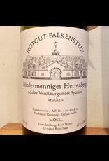 Germany 2019 Hofgut Falkenstein Niedermenniger Herrenberg Weissburgunder Spatlese Trocken AP2