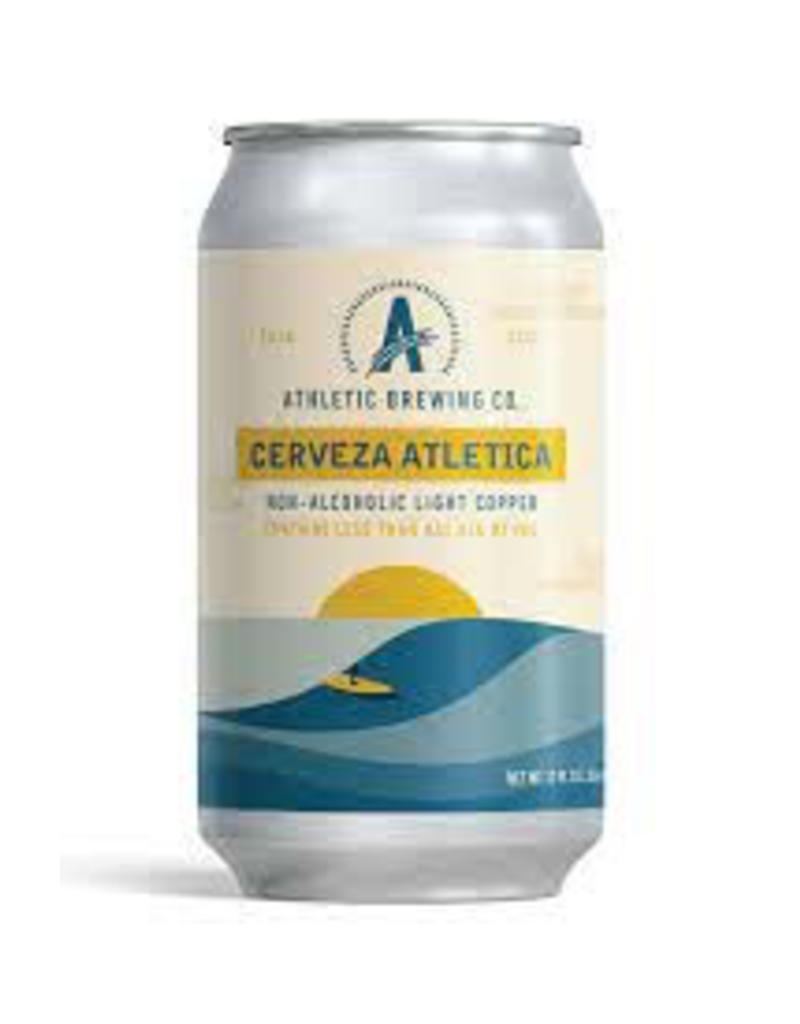 USA Athletic Brewing Cerveza Atletica Non-Alcoholic Beer