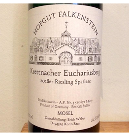 Germany 2019 Hofgut Falkenstein Krettnacher Euchariusberg Riesling Spatlese AP14