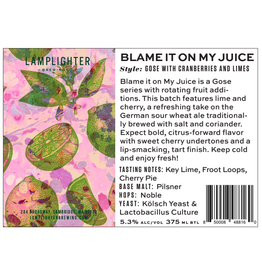 USA Lamplighter Blame It On My Juice Gose 4pk