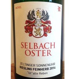 2014 Selbach Oster Zeltinger Sonnenuhr Riesling Feinherb Ur alte Reben