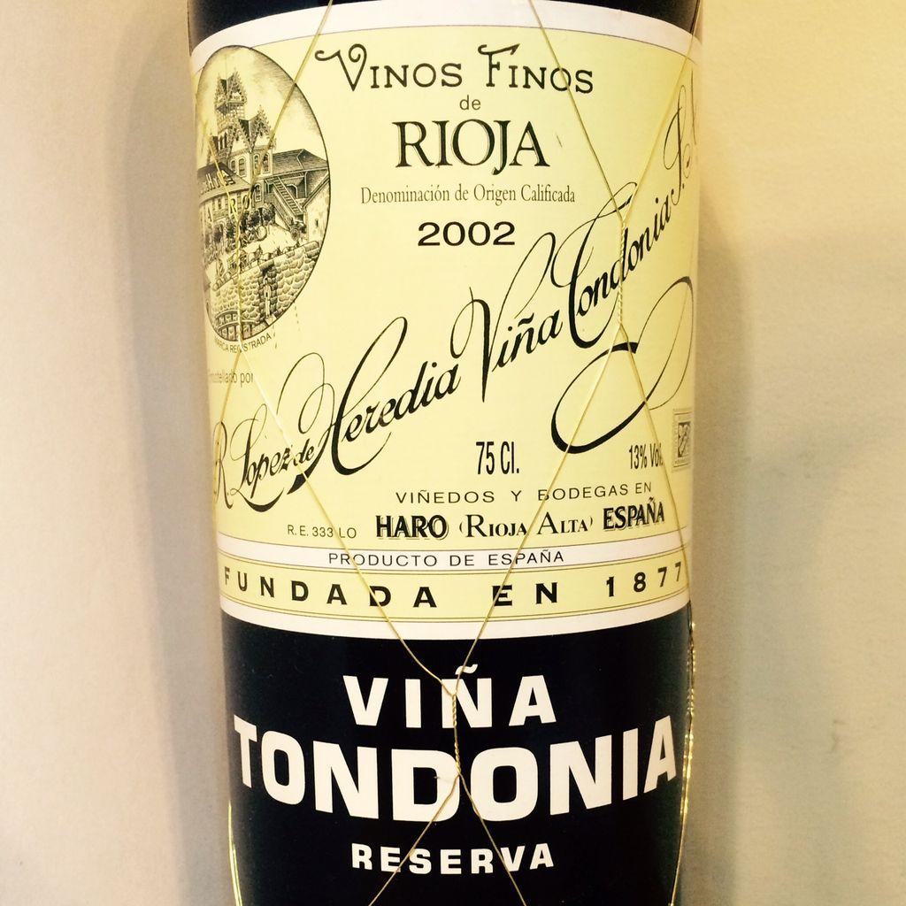 2005 Lopez de Heredia Tondonia Reserva