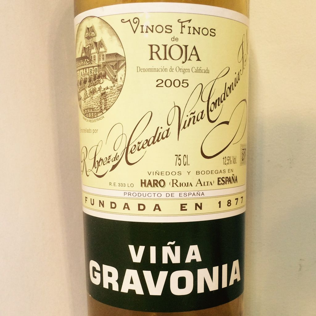 2008 Lopez de Heredia Gravonia