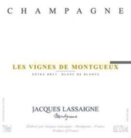 """Jacques Lassaigne """"Les Vignes de Montgueux"""" Champagne Extra Brut Blanc de Blancs"""
