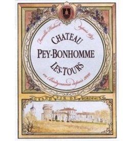 France 2017 Chateau Pey Bonhomme Les Tours Blaye Cotes de Bordeaux