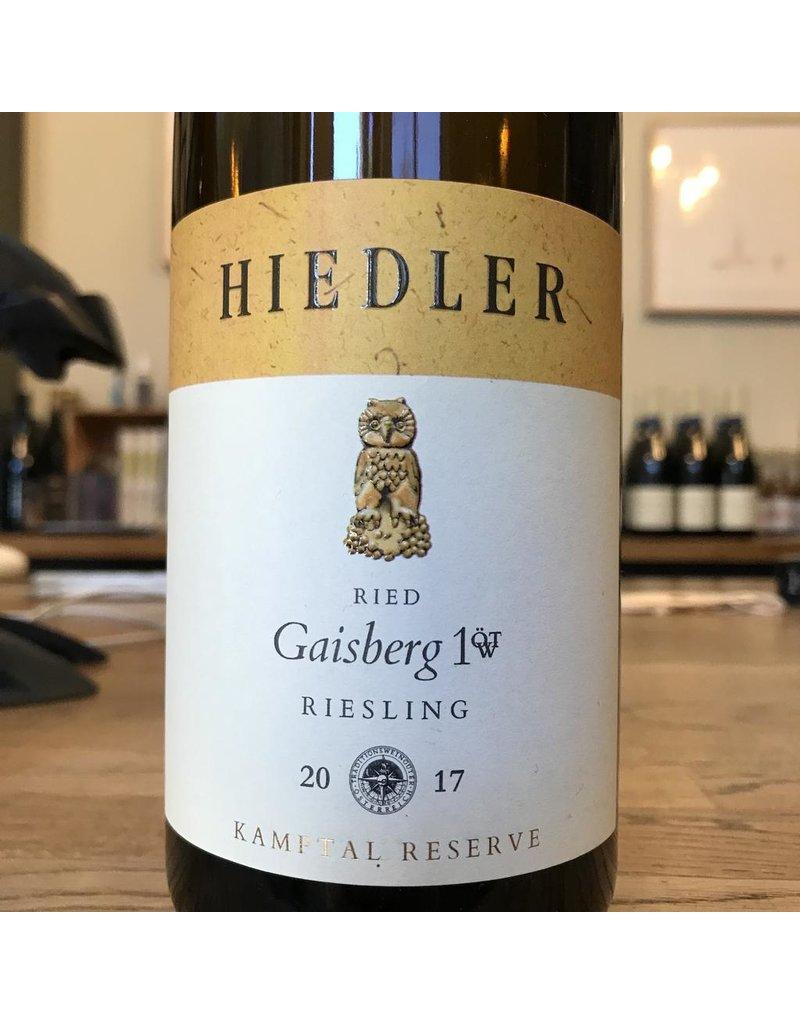 Austria 2017 Hiedler Ried Gaisberg Riesling Kamptal Reserve