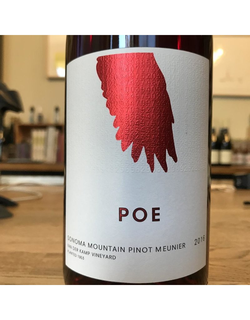 USA 2016 Poe Sonoma Mountain Pinot Meunier Van der Kamp Vineyard