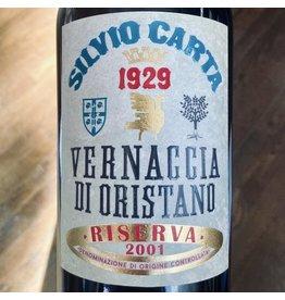 Italy 2001 Silvio Carta Vernaccia di Oristano Reserva