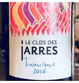 """France 2018 Le Clos des Jarres """"Insouciance """"Coteaux de Peyriac"""""""