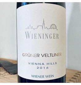 """Austria 2016 Wieninger Wiener Gruner Veltliner """"Vienna HIlls"""""""
