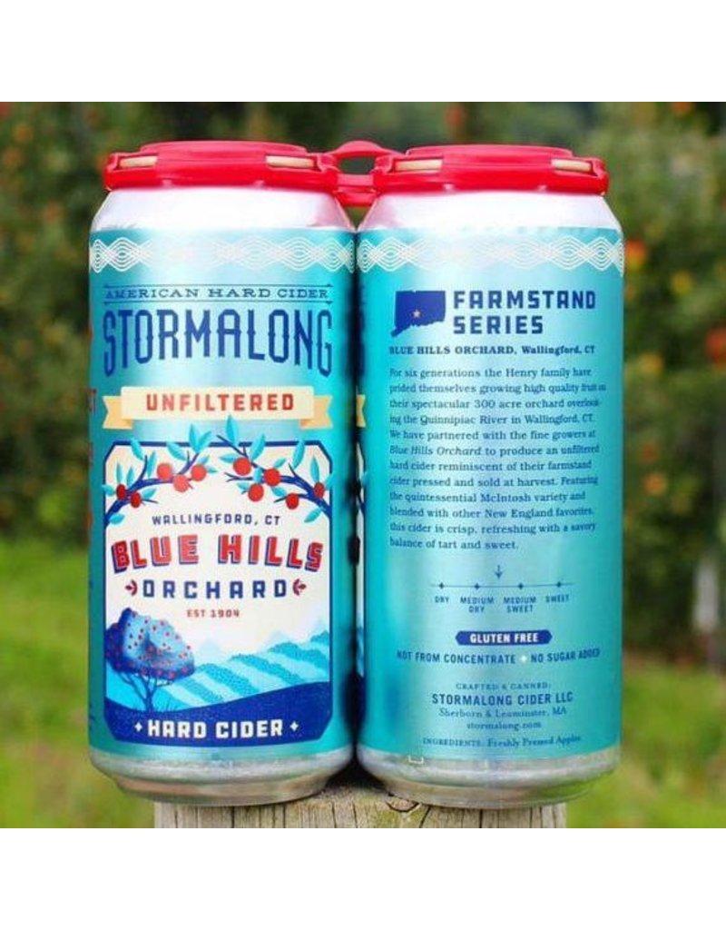 USA Stormalong Blue Hills Cider 4pk