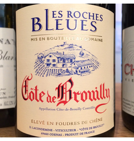 France 2016 Domaine les Roches Bleues Coes de Brouilly